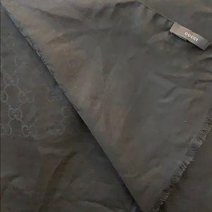 Gorgeous black Gucci scarf